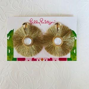 Jewelry - Lilly Pulitzer Fan-Tastic Earrings, NWT